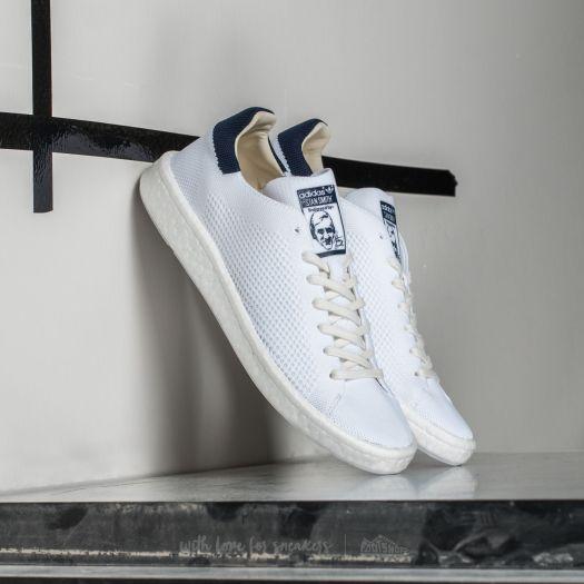 promo code 9e6fb 9f37b adidas Stan Smith Primeknit Ftw White / Ftw White/ Core Navy ...