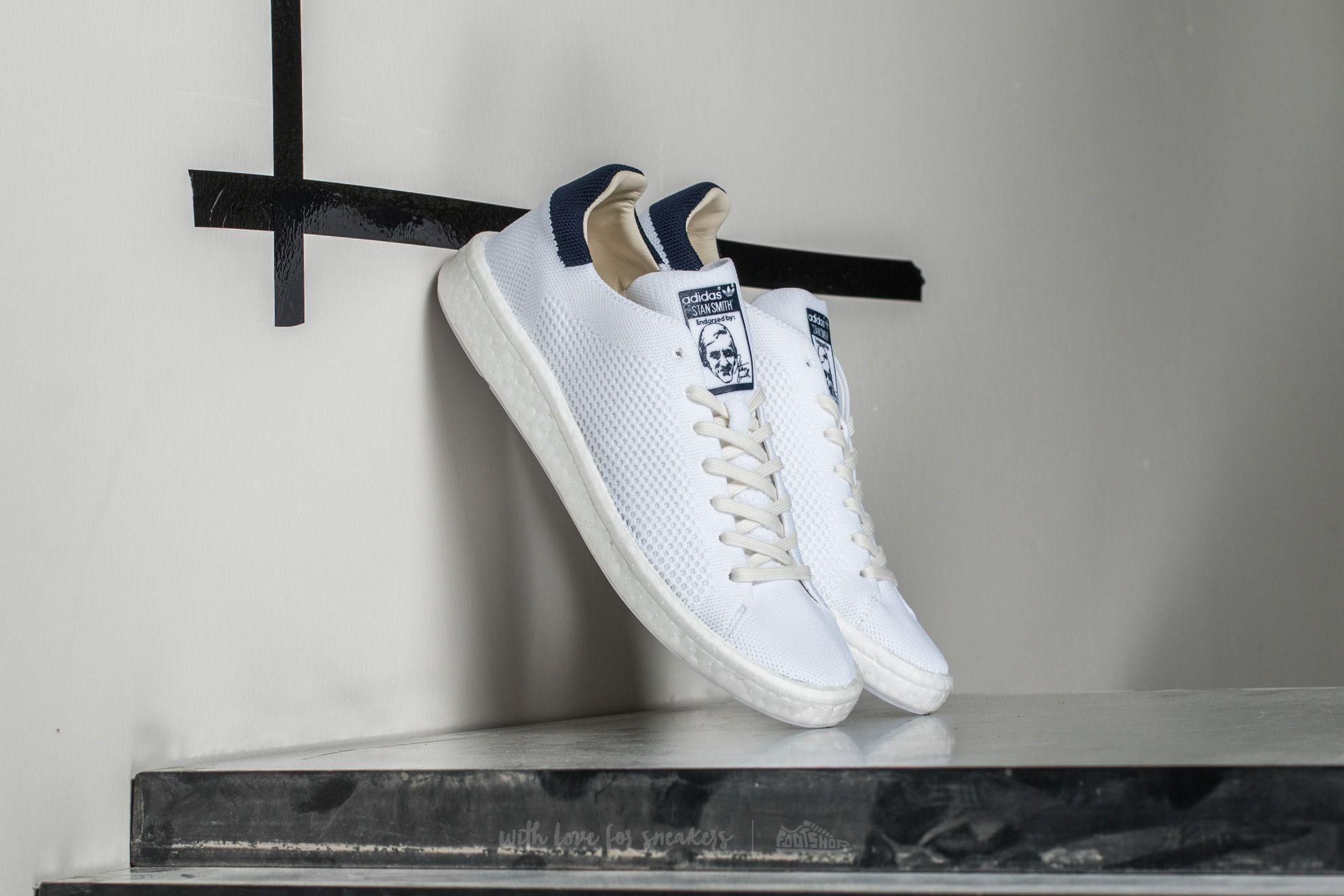 13e60f275f0 adidas Stan Smith Primeknit Ftw White   Ftw White  Core Navy ...