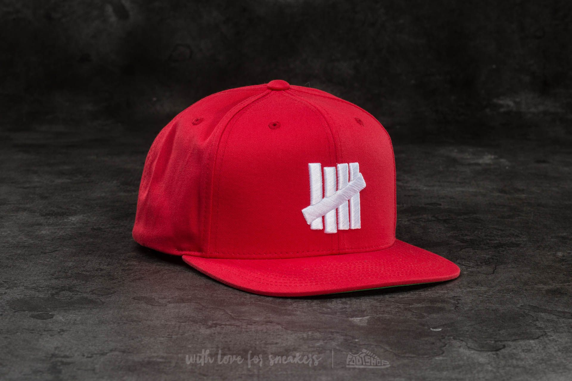 618c2832b69 Undefeated 5 Strike Cap Red