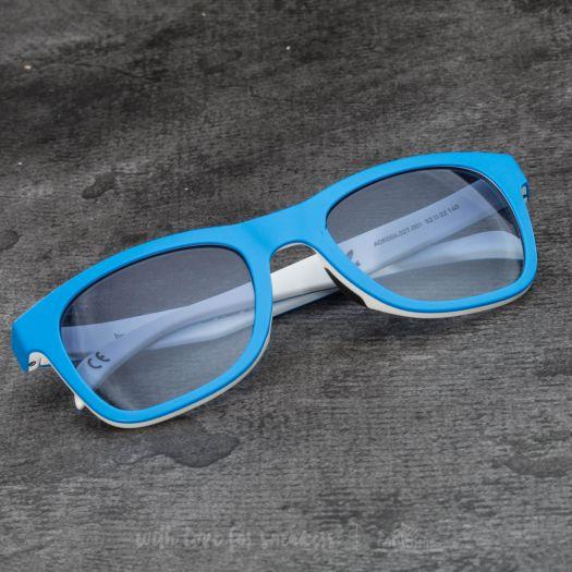 adidas x Italia Independent AOR004 Sunglasses Sky Led White | Footshop