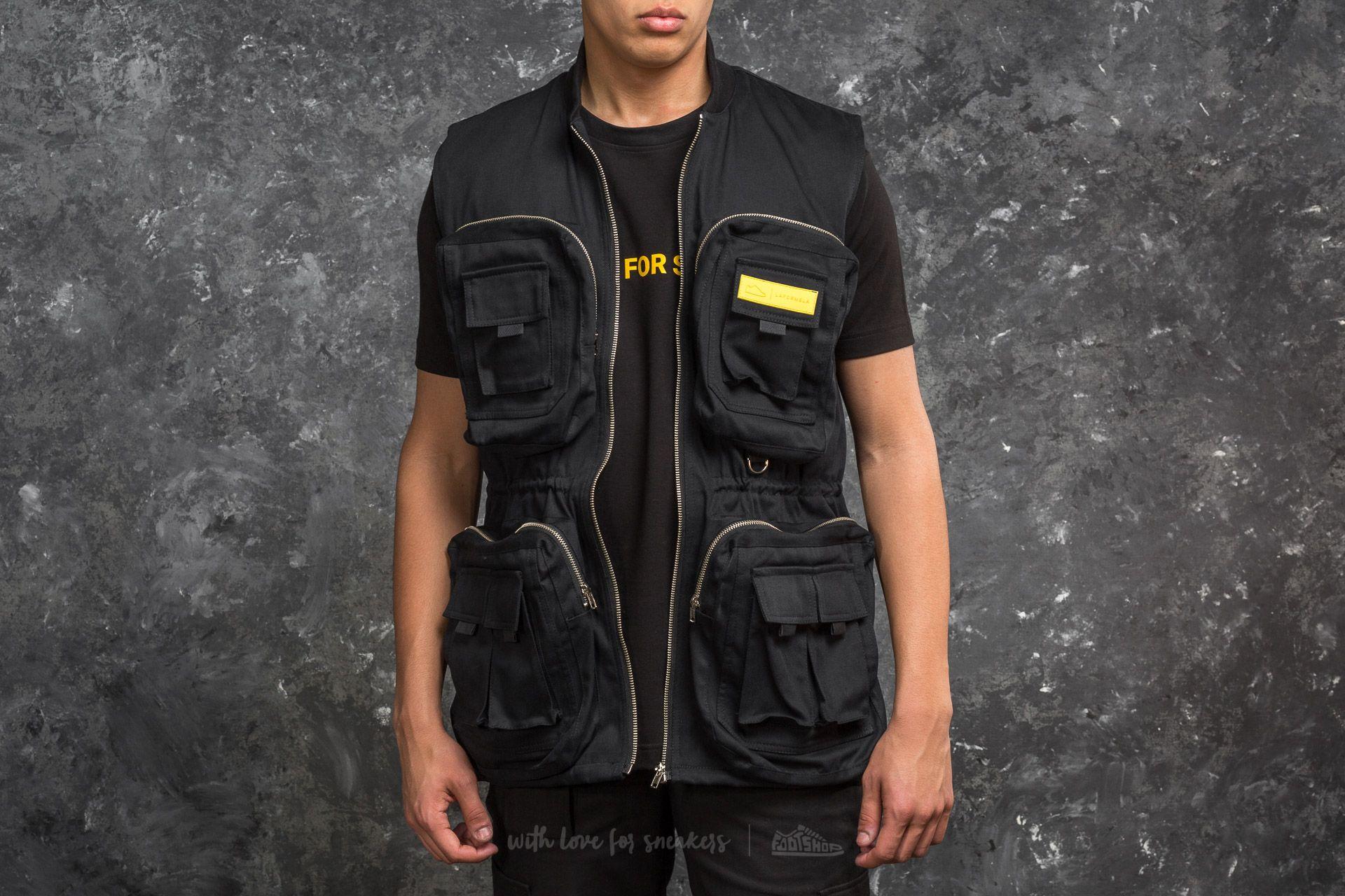 Footshop x LAFORMELA Vest Black za skvělou cenu 3 390 Kč koupíte na Footshop.cz