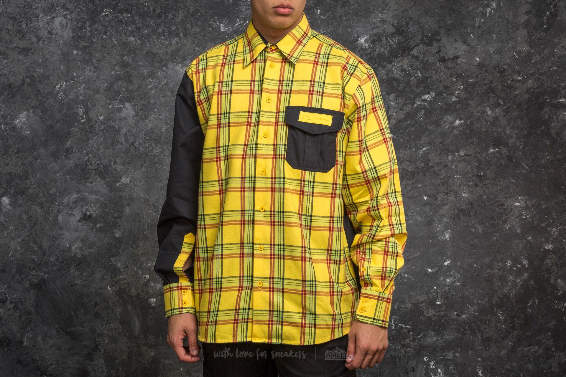 Footshop x LAFORMELA Shirt Yellow/ Black za skvělou cenu 2 090 Kč koupíte na Footshop.cz