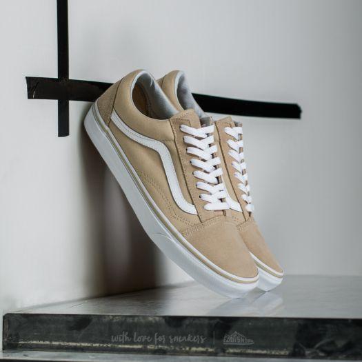 Vans Old Skool Pale Khaki True White | Footshop