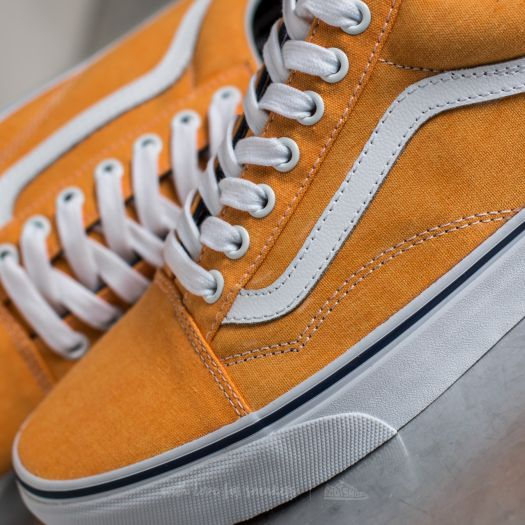 Vans Old Skool (Washed Canvas) Citrus Crown Blue | Footshop