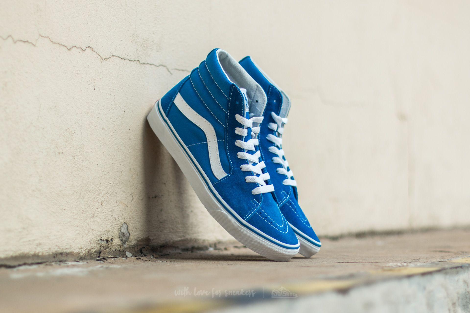 5b68497705f08 Vans Sk8-Hi (Suede/Canvas) Imperial Blue | Footshop