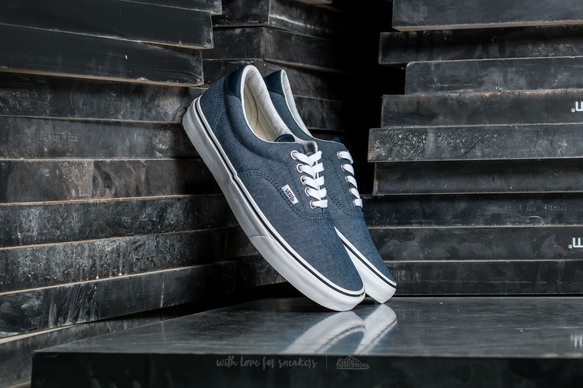 c6e36b3d89 Vans Era 59 (C L) Chambray  Blue