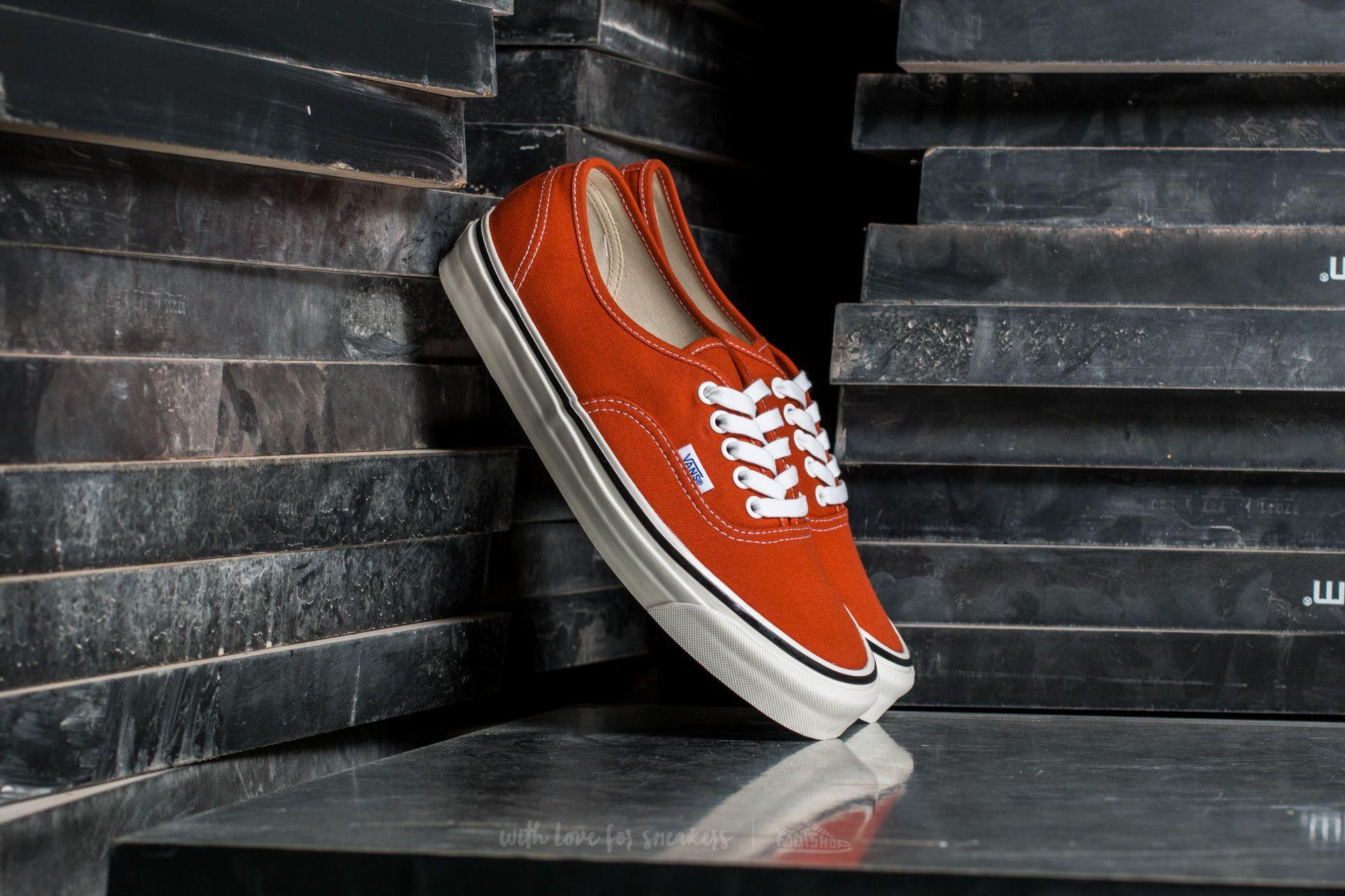 Vans Authentic 44 DX (Anaheim Factory) Orange | Footshop