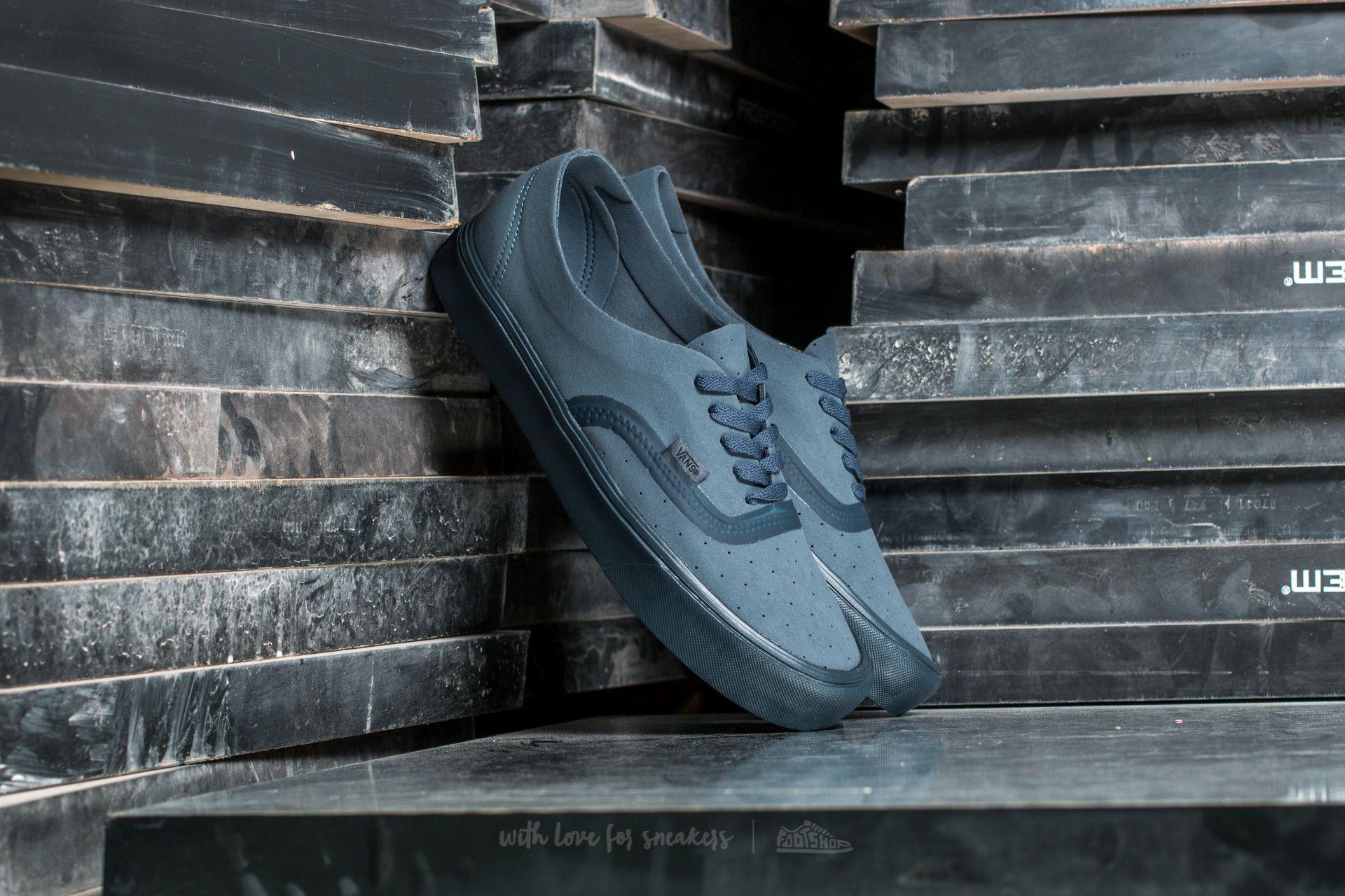 Vans Authentic Lite (Perf) Dark Slate Dark Side   Footshop