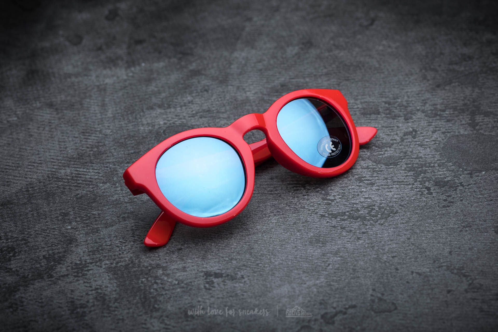 Vans Lolligagger Sunglasses Tomato  19396e61c11