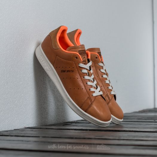 adidas stan smith orange homme