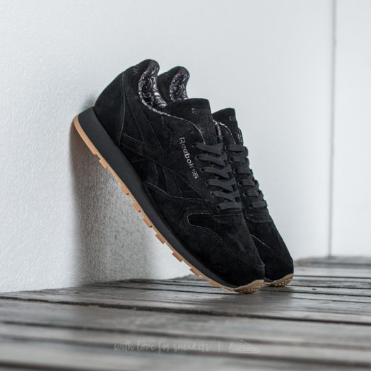 Reebok Classic Leather TDC Black White Gum | Footshop