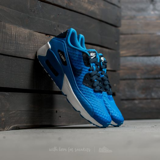 Nike Air Max 90 Ultra 2.0 BR (GS) Photo Blue Armory Navy White | Footshop