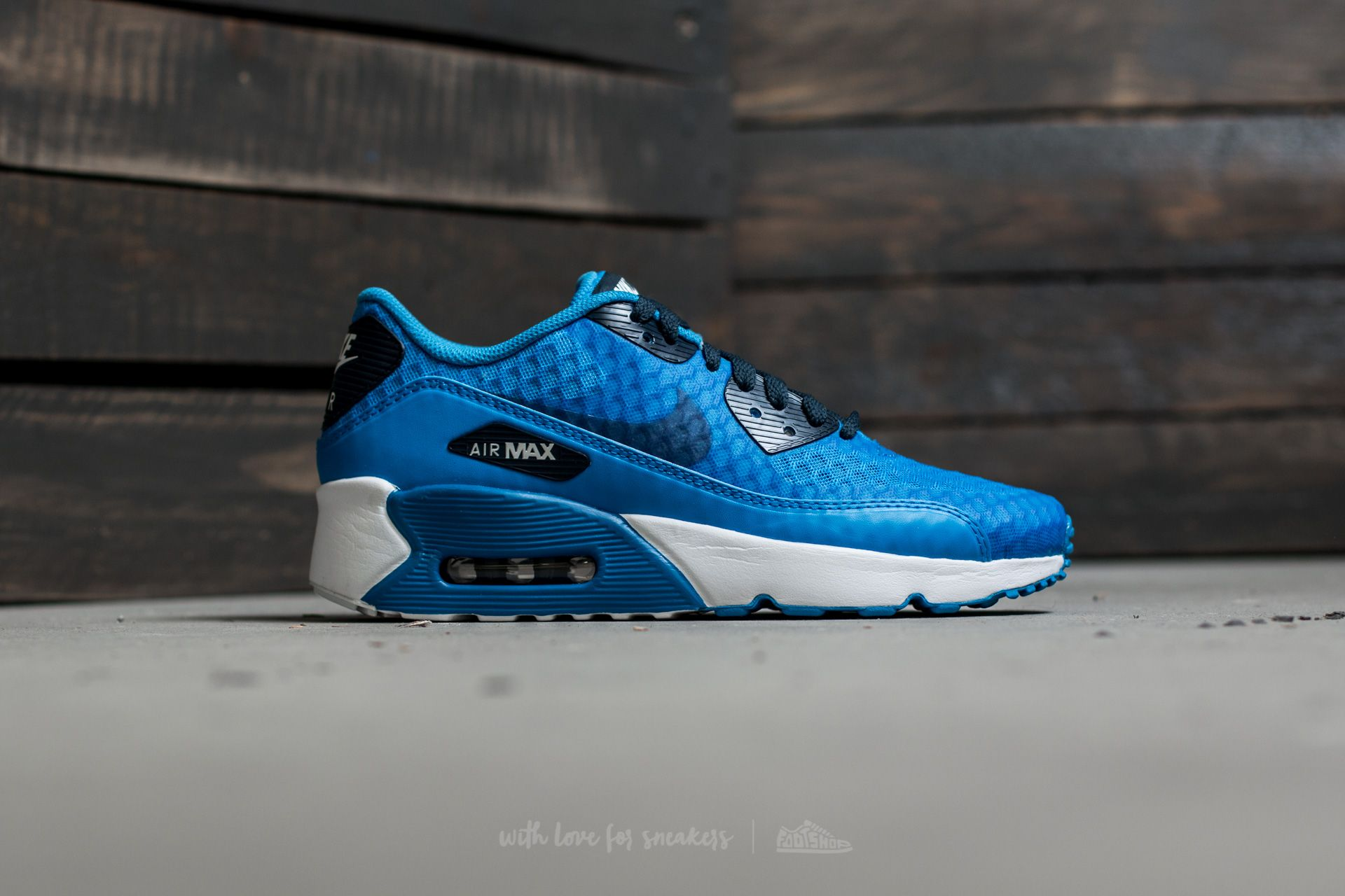 Nike Air Max 90 Ultra 2.0 BR (GS) Photo Blue Armory Navy