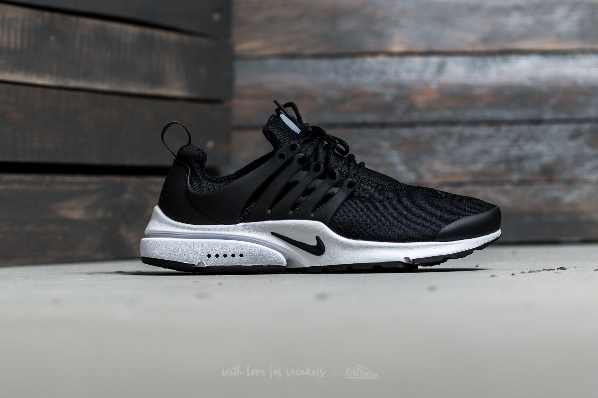 Nike Air Presto Essential Black Black White | Footshop