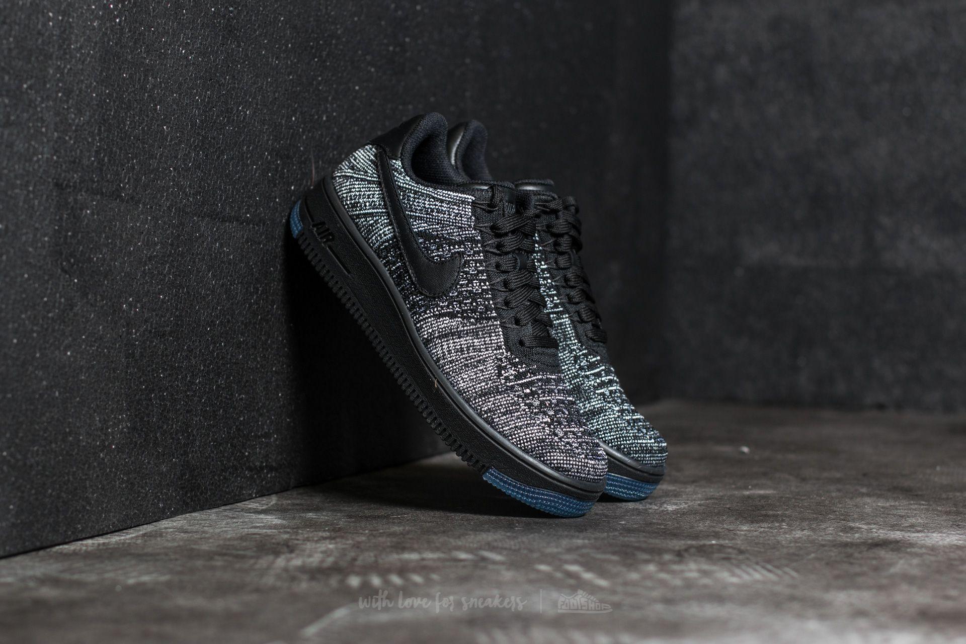 size 40 8c06a 4a929 Nike W Air Force 1 Flyknit Low Black/ Black-White | Footshop