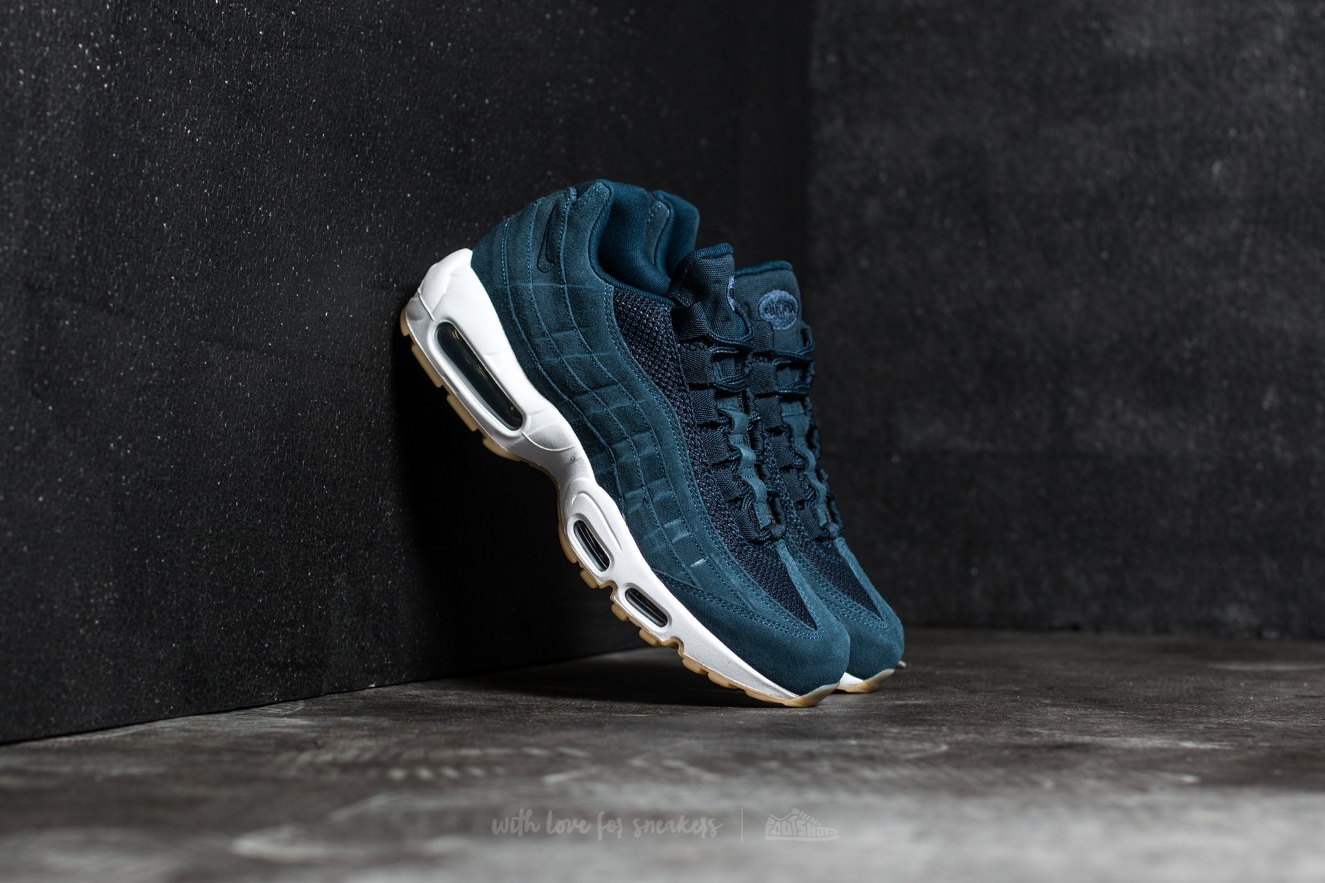 d38682e95d Nike Air Max 95 Premium Armory Navy/ Armory Navy | Footshop