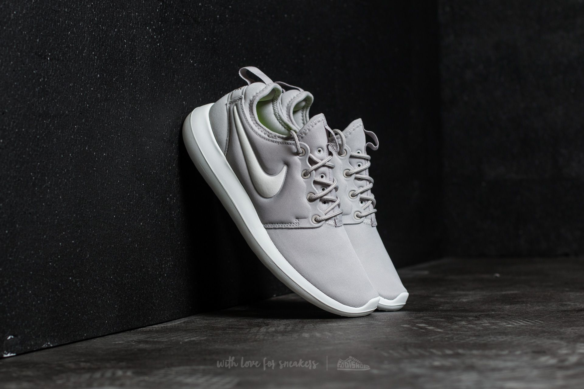 b83a0adfa1717 Nike W Roshe Two Lt Iron Ore  Summit White-Volt
