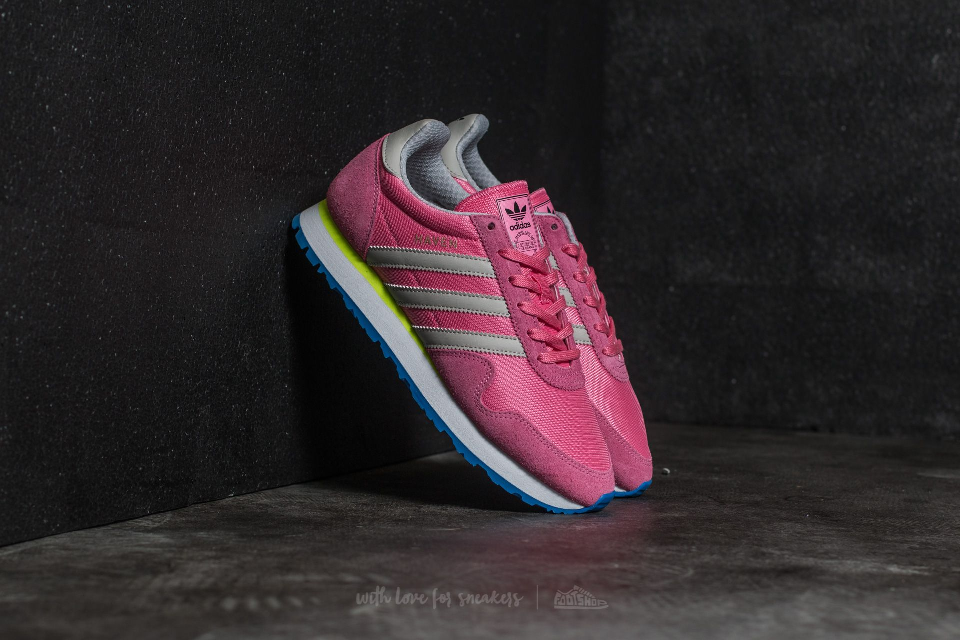 official photos e27ce 03164 adidas Haven. Easy Pink Clear Granite Solar Yellow