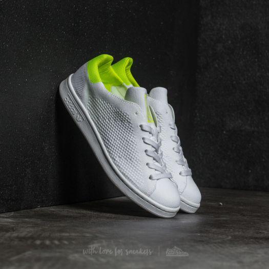 adidas W Stan Smith Primeknit Ftw White  Ftw White  Solar Yellow ... 5bfd79c4b5