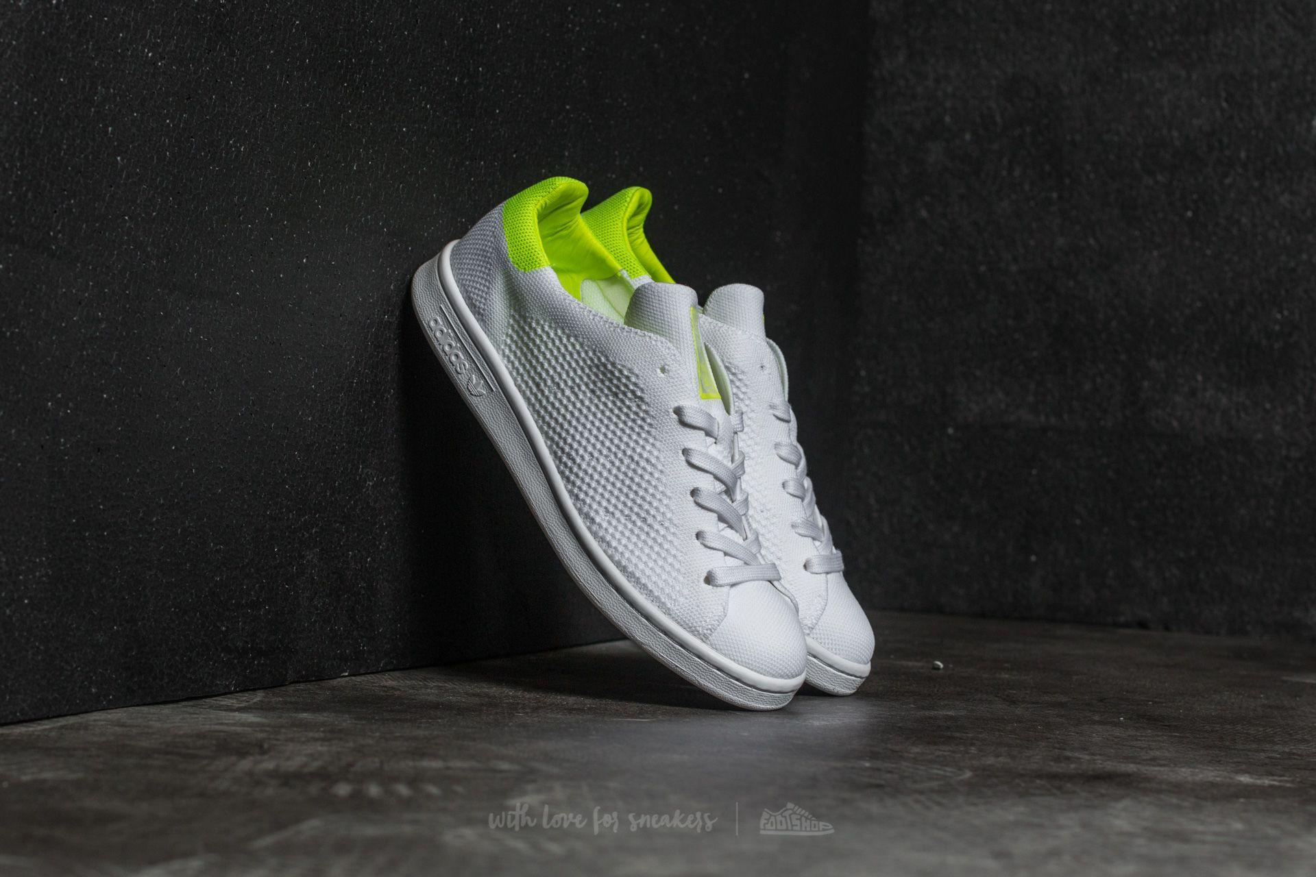 cfb1c6af0028 adidas W Stan Smith Primeknit Ftw White  Ftw White  Solar Yellow ...
