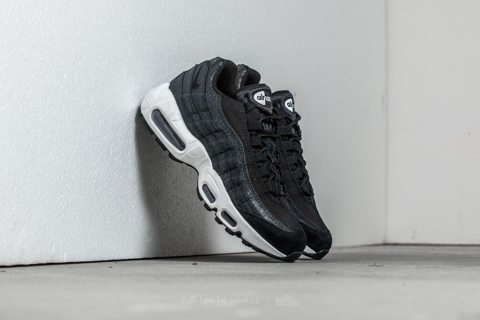 Nike Wmns Air Max 95 Premium Black Summit White | Footshop