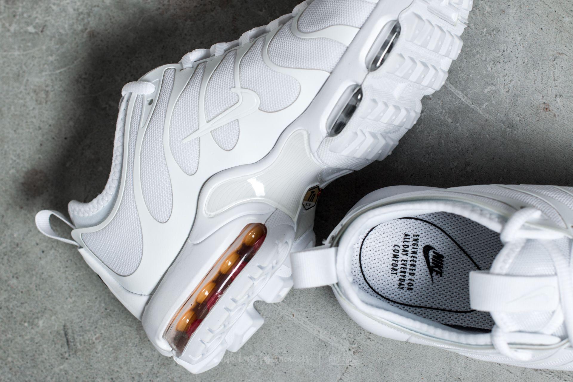 Nike Wmns Air Max Plus Tn Ultra White White Black Footshop  Footshop