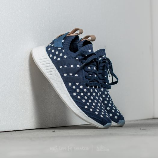 adidas NMD_R2 PK W Collegiate Navy Footwear White | Footshop
