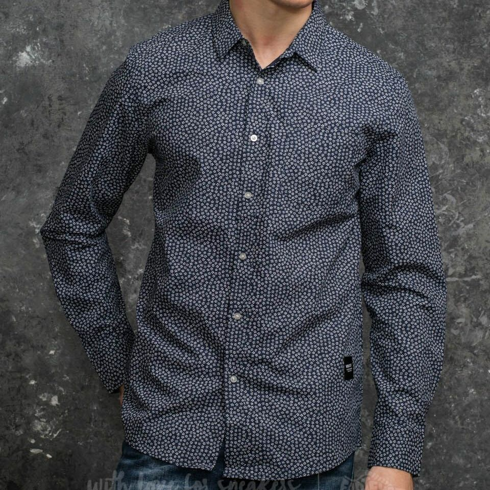 Wemoto Ohata Shirt Navy Blue S