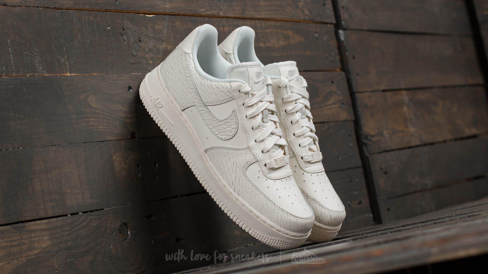 Nike Damskie Nike Air Force 1 '07 Sneakersy In Light Bone
