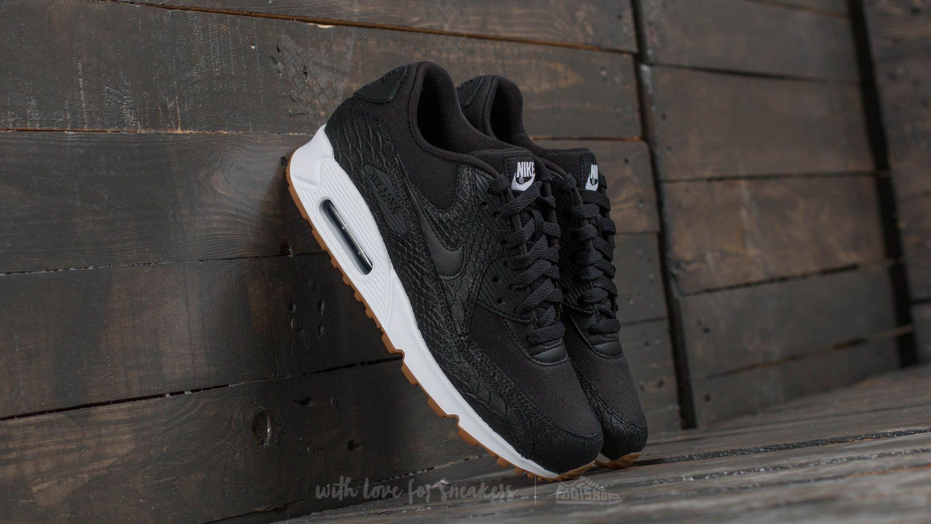 Nike Air Max 90 Premium Black Gum