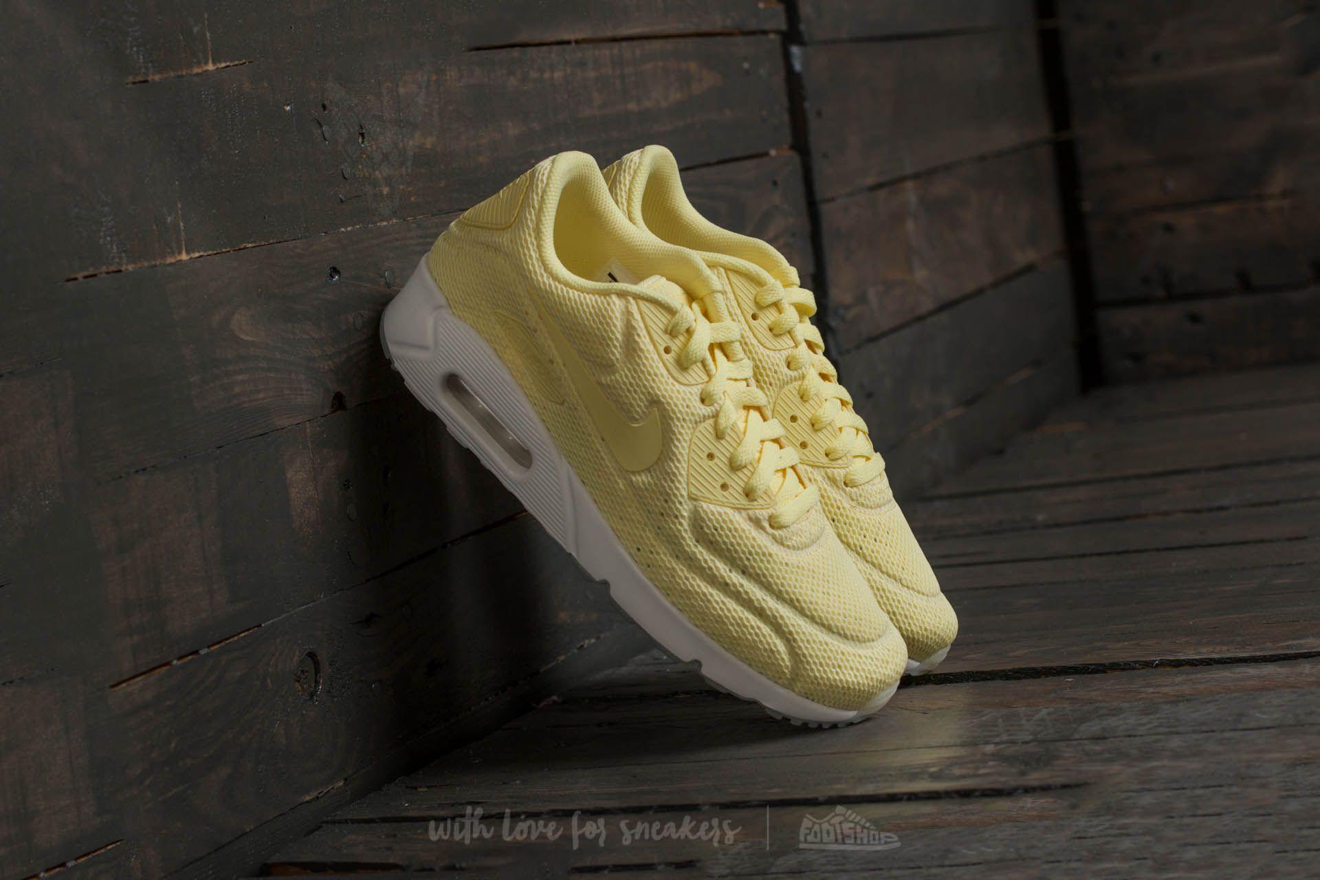 online retailer bd73f bb935 Nike Air Max 90 Ultra 2.0 BR. Lemon Chiffon  Lemon Chiffon
