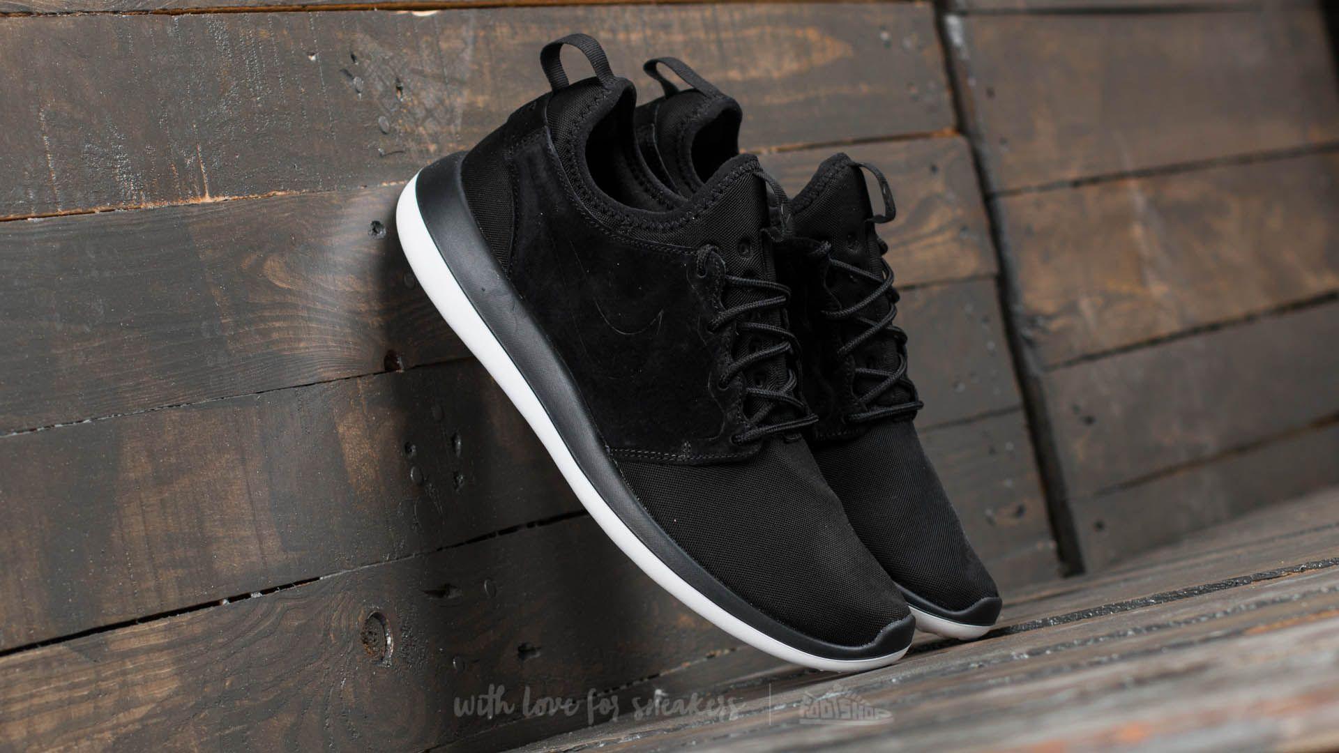 brand new 70a2d fd623 Nike Roshe Two BR Black Black-White