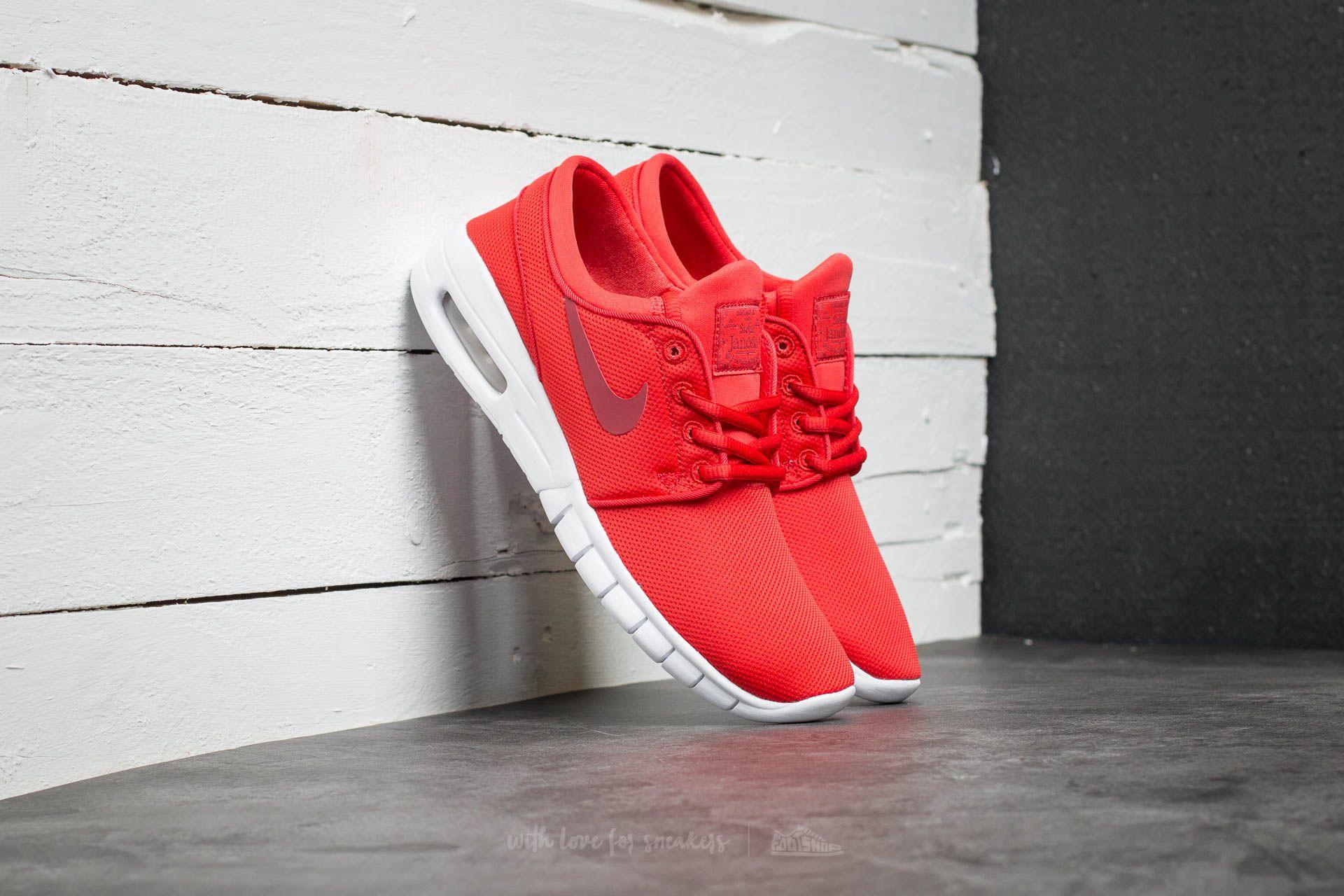 f6c7f9b080 Nike Stefan Janoski Max (GS) Track Red/ Cedar-White | Footshop