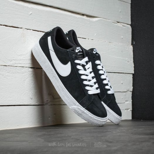 reputable site a24aa 44c61 Nike SB Blazer Zoom Low Black/ White-Gum Light Brown ...