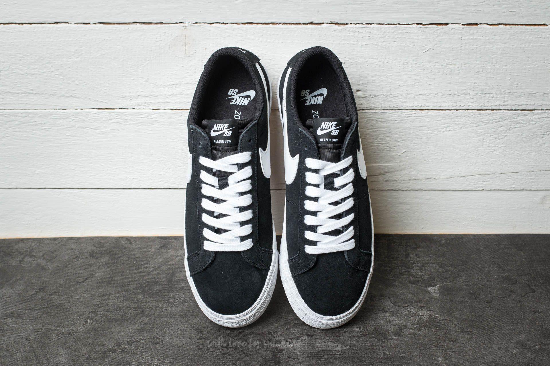 1ce707ad9bf Nike SB Blazer Zoom Low Black  White-Gum Light Brown za skvělou cenu 2