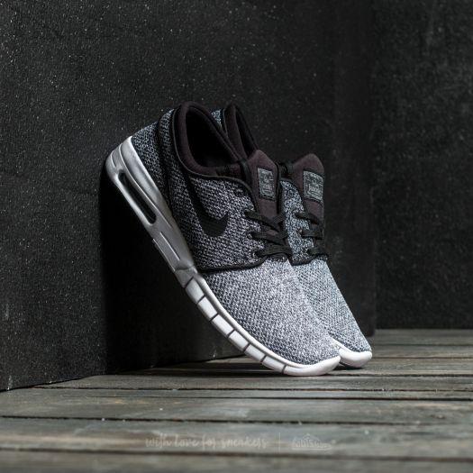 janoski max dark grey