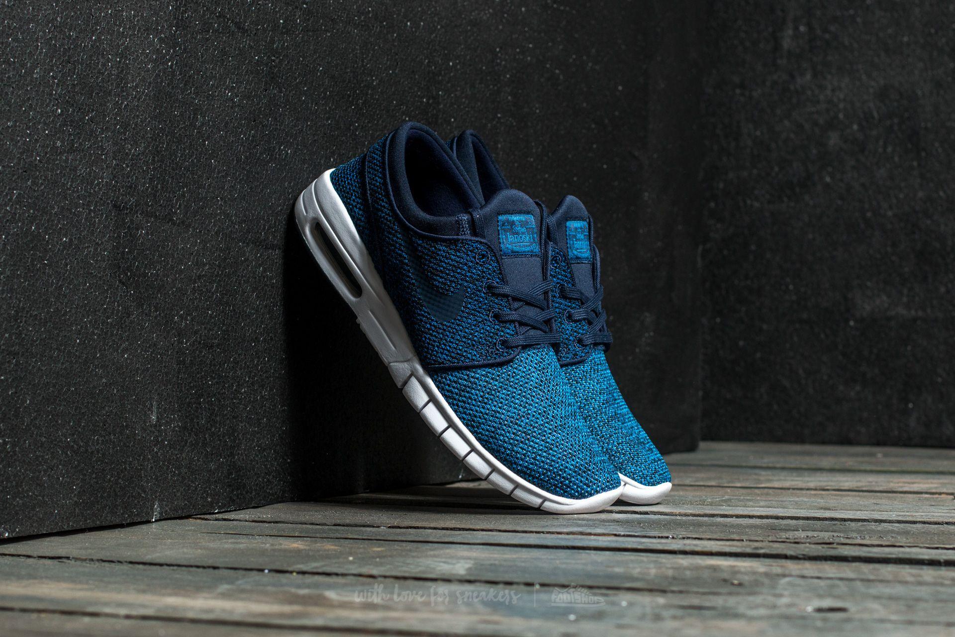 best sneakers 757c0 ba3cd Nike Stefan Janoski Max. Industrial Blue  Obsidian