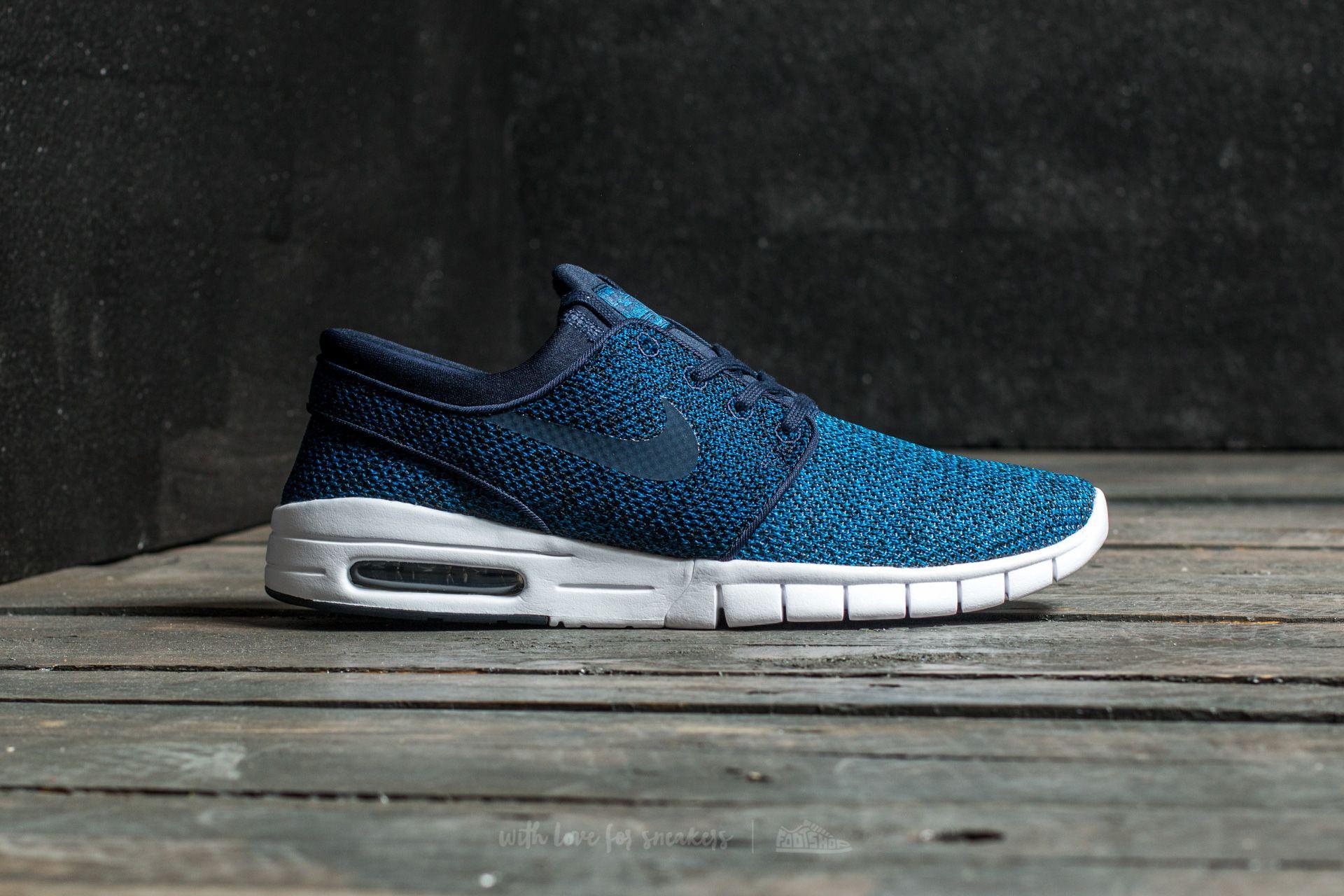 Nike Stefan Janoski Max Industrial Blue Obsidian | Footshop