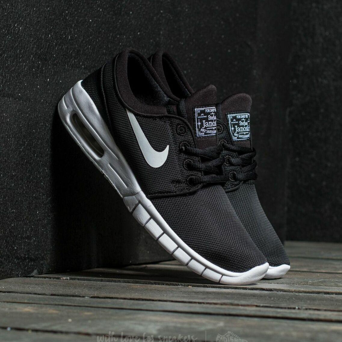 Nike Stefan Janoski Max (GS) Black/ White EUR 36