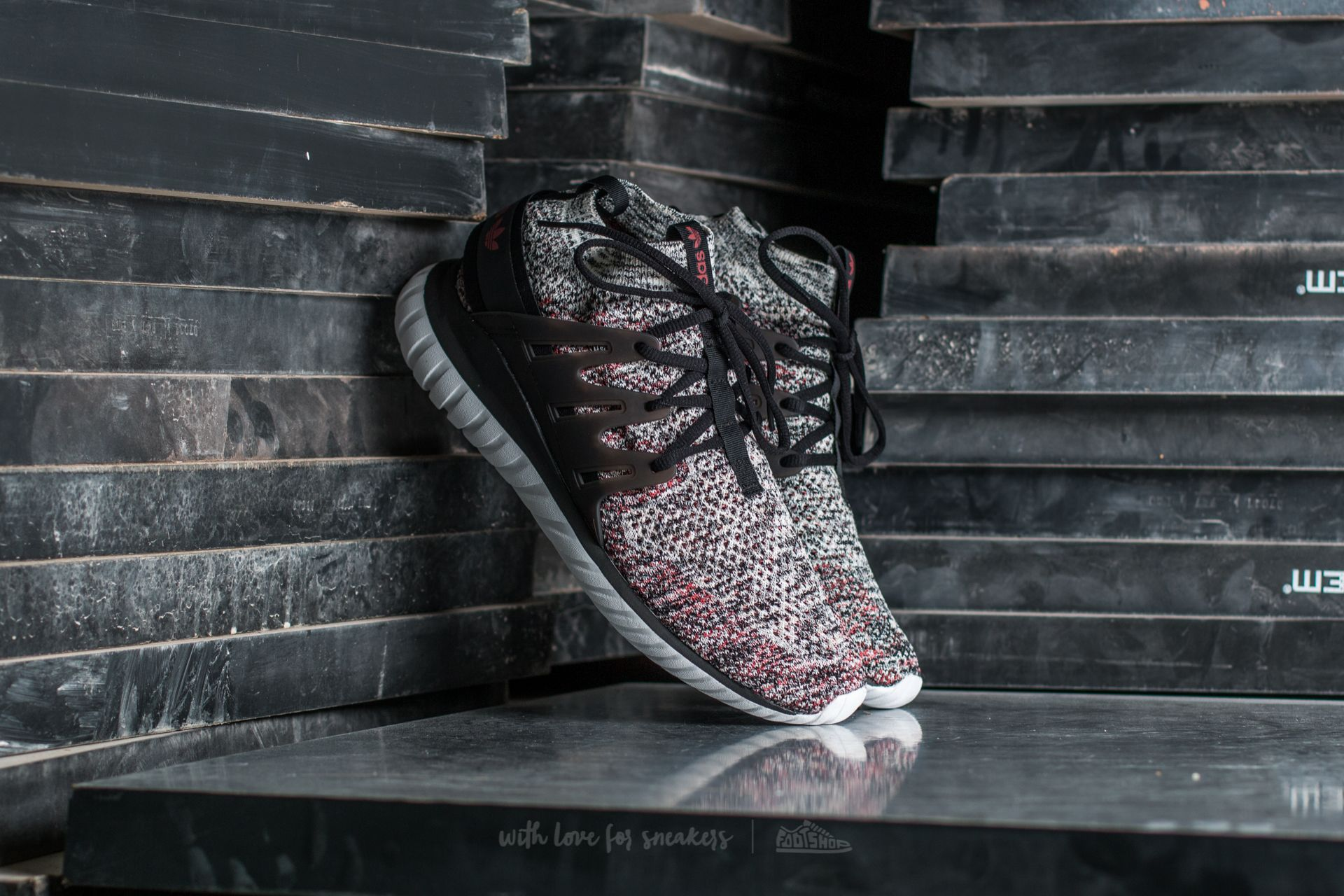 new product e0b15 b330d adidas Tubular Nova Primeknit Clear Brown/ Core Black/ Mystery Red ...
