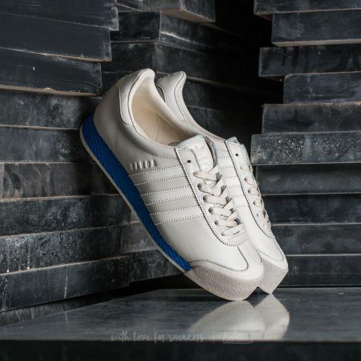 adidas Samoa Vintage Shoes Beige adidas US    adidas Samoa Vintage Chalk White Blue   title=          Footshop