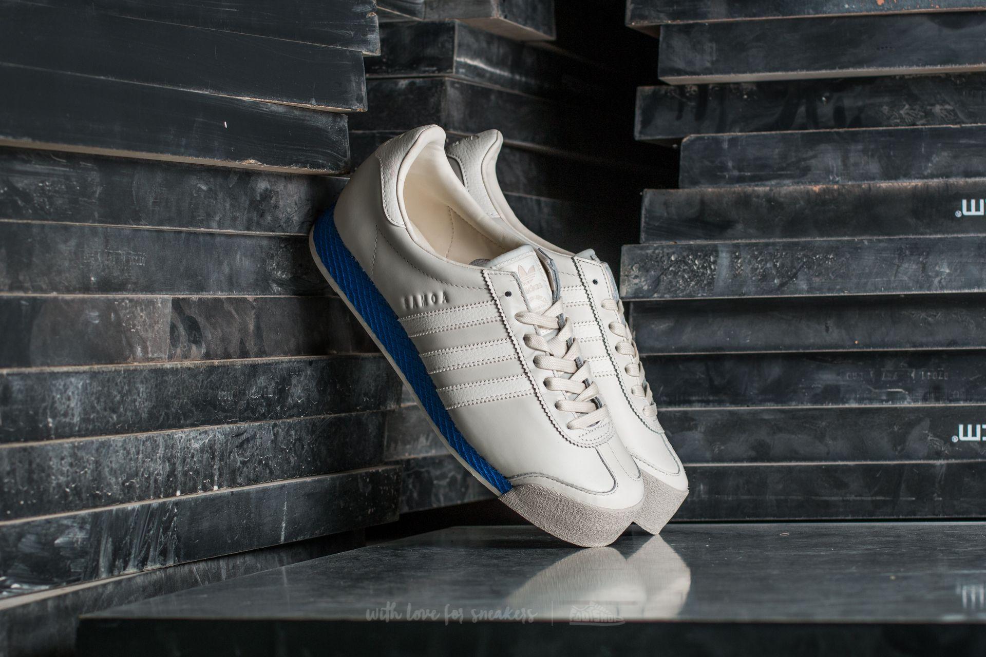 adidas samoa blue and white Online
