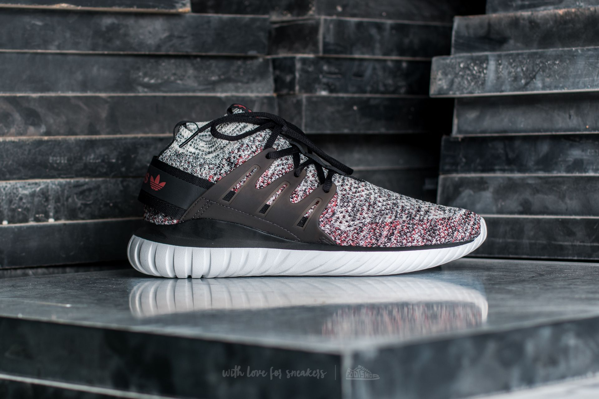 Hypermoderne adidas Tubular Nova Primeknit Clear Brown/ Core Black/ Mystery Red JG-95