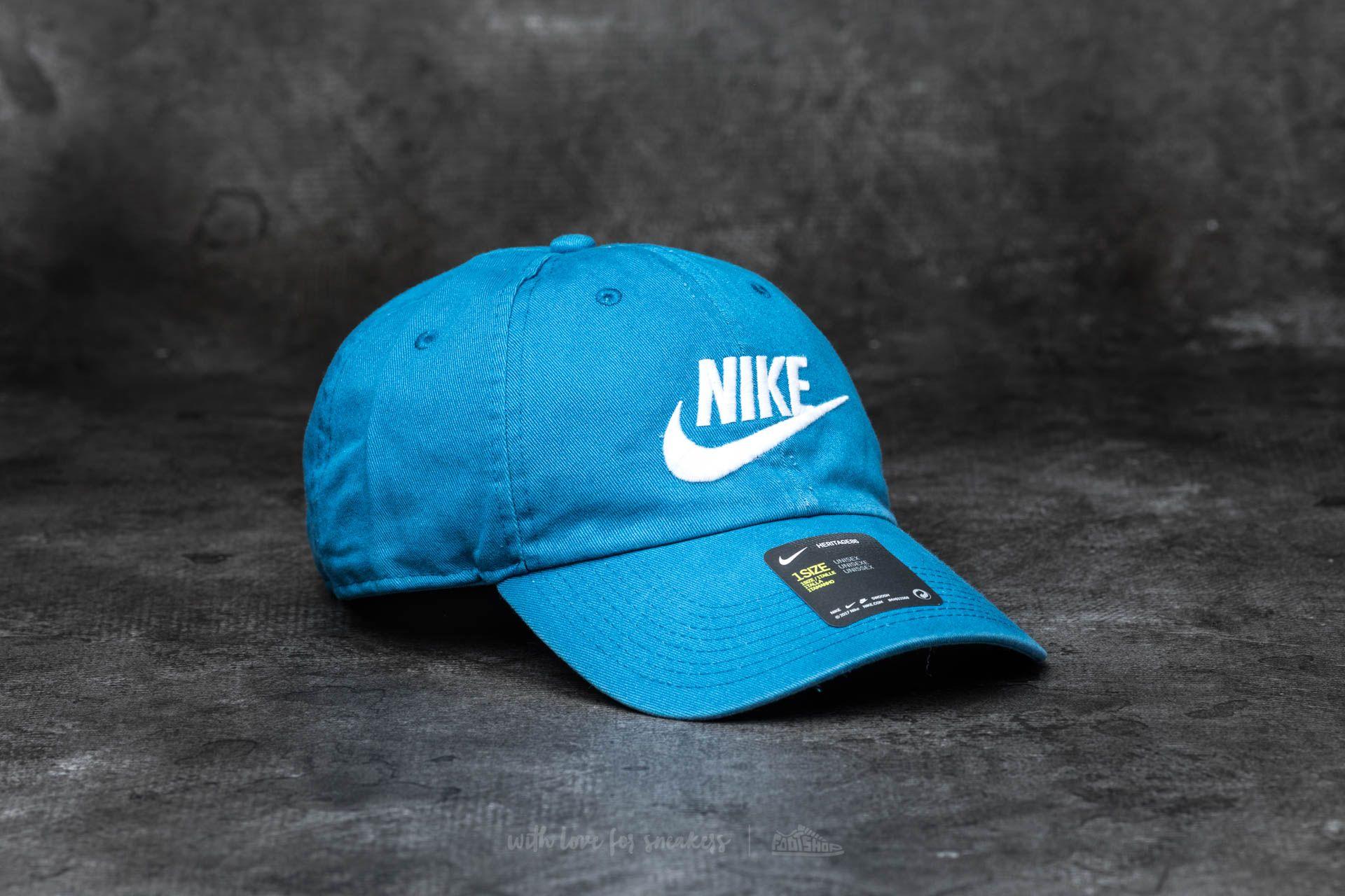 Nike Futura Washed H86 Cap Industrial Blue  White  e731964d84d
