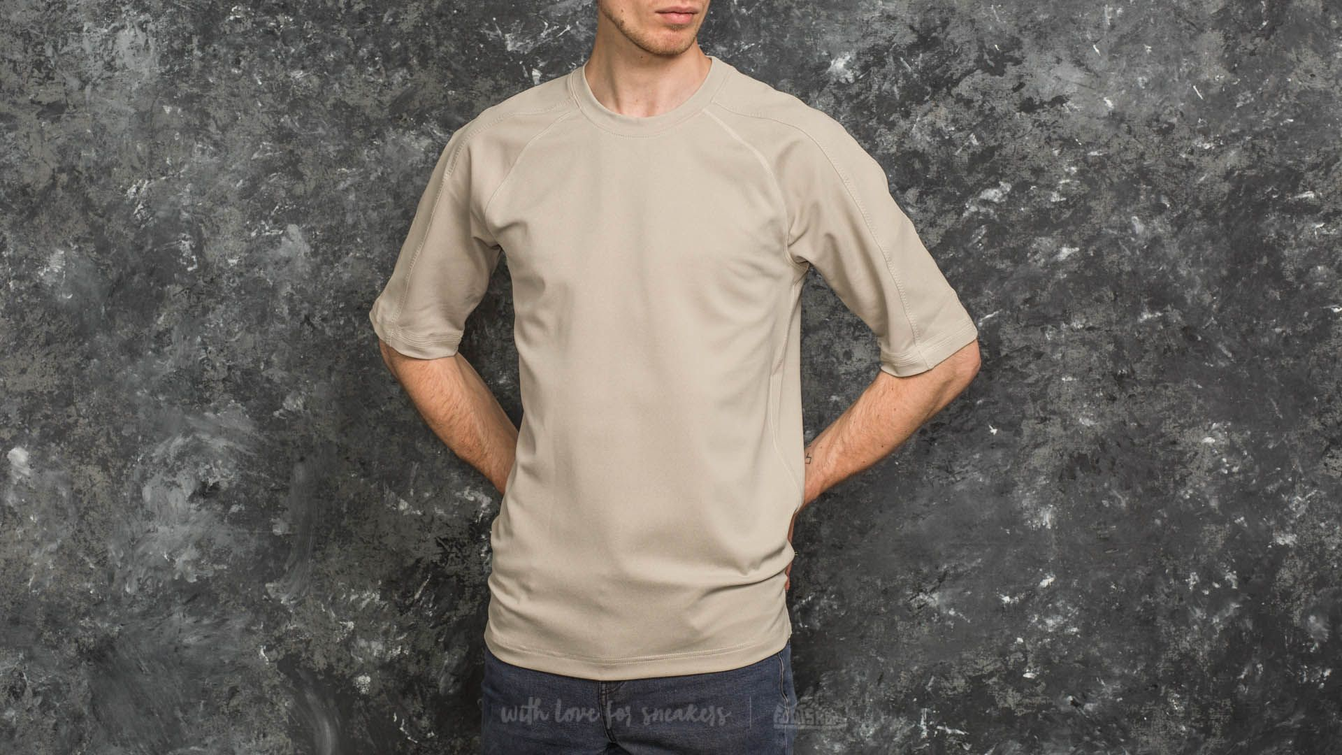 adidas Day One No-Stain Tee Clear Brown