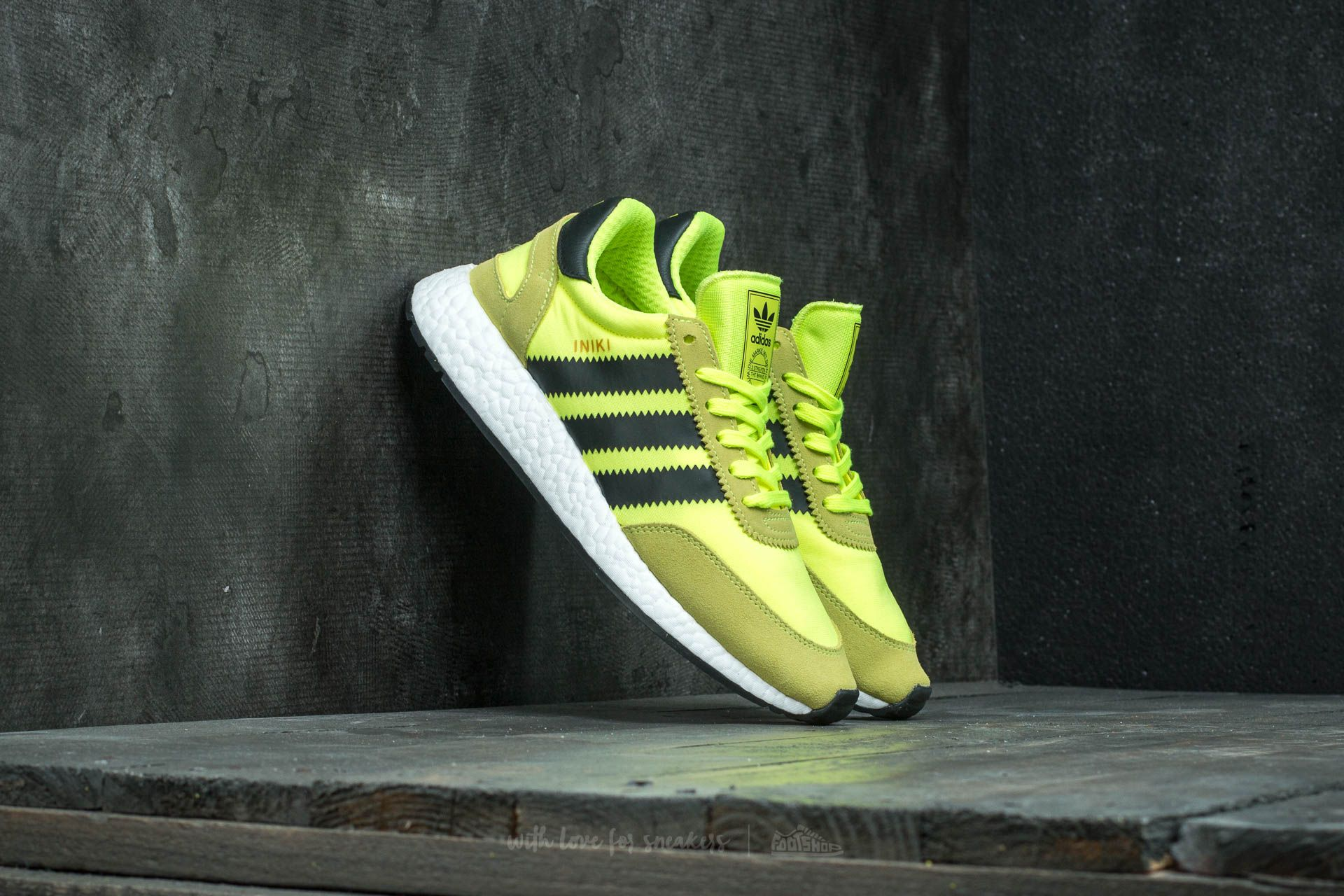 2ee75d81671 adidas Iniki Runner Solar Yellow  Core Black  Ftw White