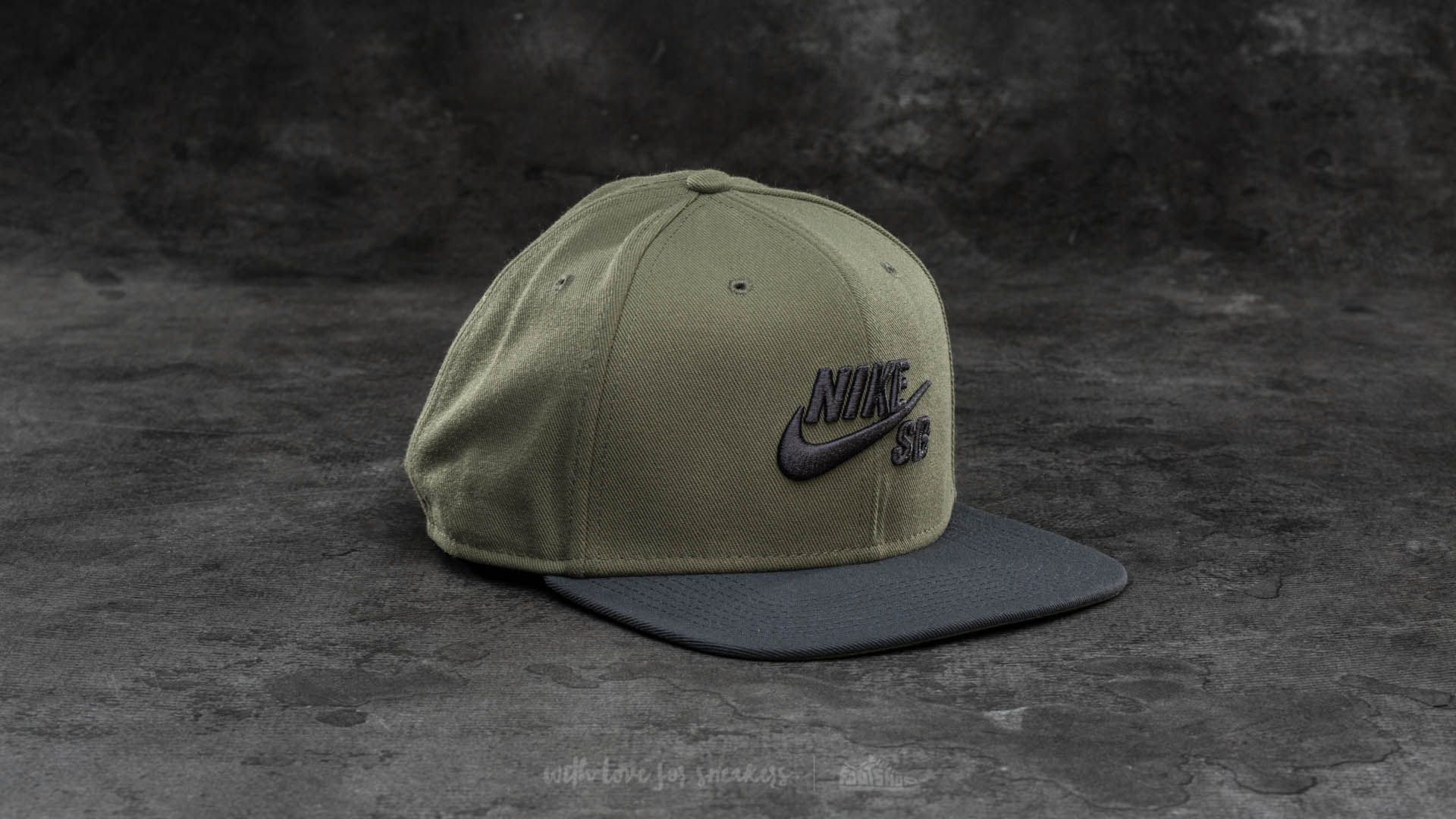 6b3d43325 Nike SB Pro Cap Olive/ Black | Footshop