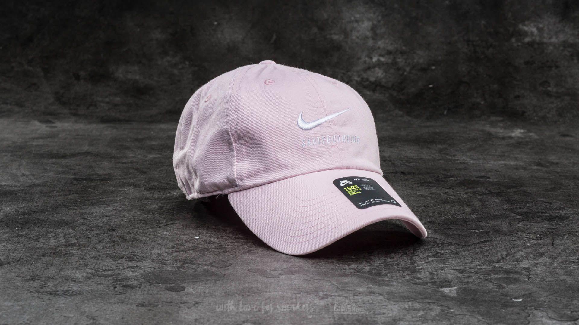 2938e7ebdcdb2 Nike SB Twill H86 Cap Prism Pink