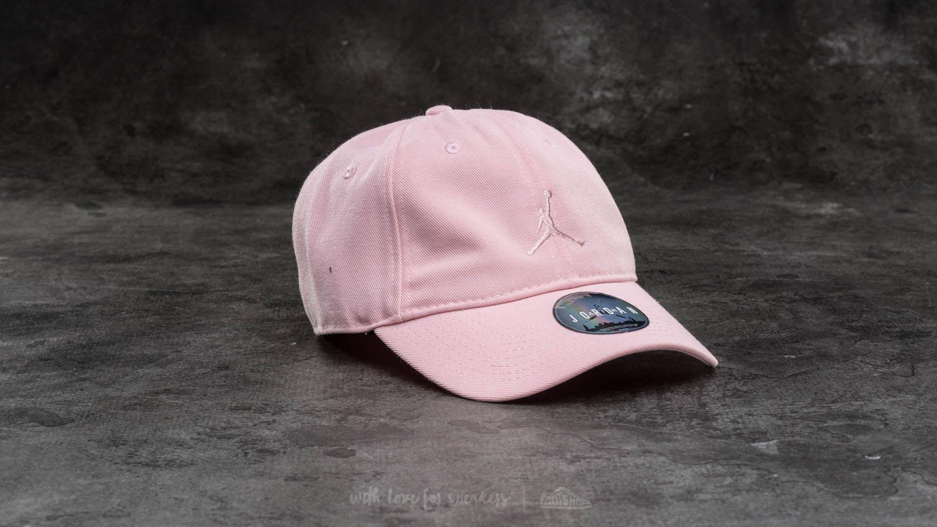 6a290774d00 Jordan Floppy H86 Cap Light Pink