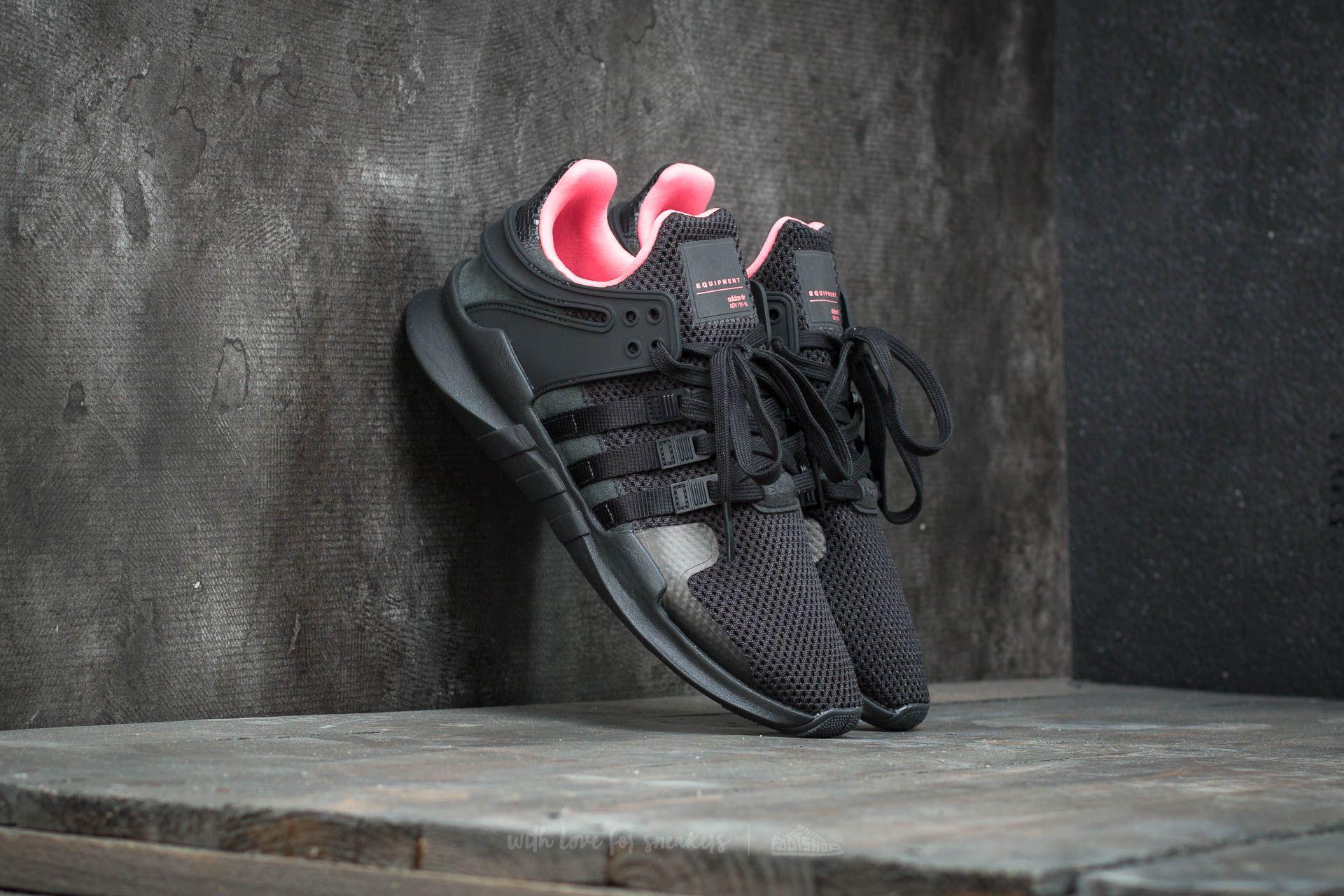 adidas EQT Support ADV Core Black/ Core Black/ Turbo   Footshop